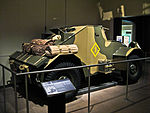 Dingo Light Armoured Car AWM WW2 gallery rear view.JPG