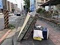 Discarded Beddings on Jianxin Rd. in Hsinchu.jpg