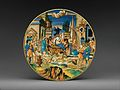 Dish with The Woman of Sestos and the Eagle and arms of the Pucci family MET DP329028.jpg