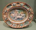 Dish with scene symbolizing Fecundity, c. 1640, London, probably Montague Close factory of Pickleherring factory, tin-glazed earthenware - Gardiner Museum, Toronto - DSC01225.JPG