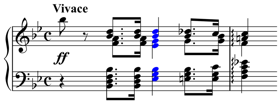Dissonance in Bach