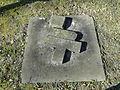 Dobbertin Klosterfriedhof Grabstein Magdalene von Bülow Reihe 7 Platz 11 2012-03-23 083.JPG
