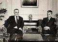 Dobroslav Ćulafić and Nicolae Ceaușescu.jpg