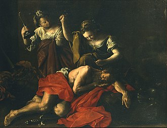 Domenico Guidobono - Jael and Sisera