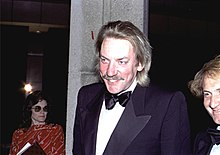 Donald Sutherland nel 1981