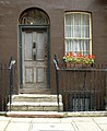 Doorway of house in Elder Street, Spitalfields, London - geograph.org.uk - 981095.jpg