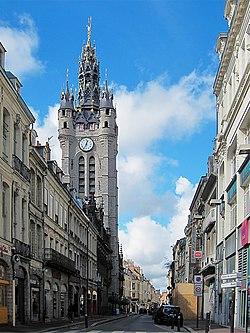 Le beffroi de Douai.