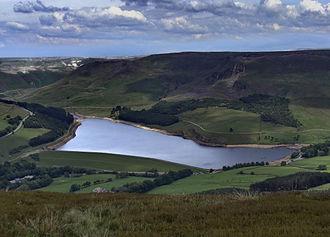 River Tame, Greater Manchester - Dovestones Reservoir