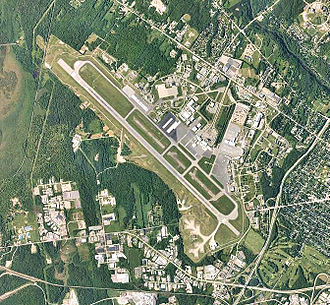 Bangor Air National Guard Base - 2006 USGS Aerial Photo