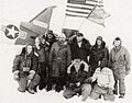 Dr. Albert Paddock Crary with team at the North Pole.jpg