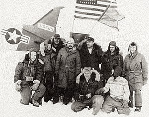 Albert P. Crary - Crary and his team at the North Pole in 1952