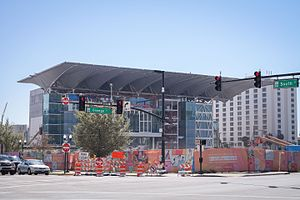 Dr. Phillips Center for the Performing Arts - Venue during construction (March 2014)