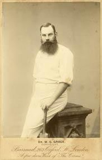 W. G. Grace - Grace in 1885