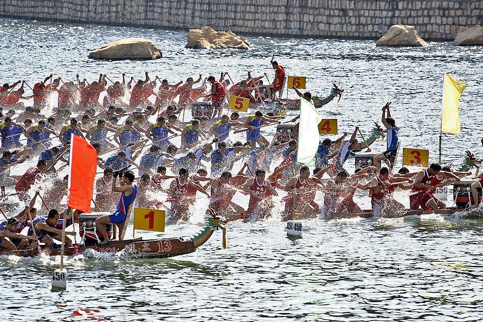 Dragonboat Racing Festival Macau 20050611