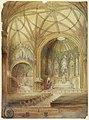 Drawing, Rendering of Interior, St. John's Church, Utica, NY, ca. 1902 (CH 18432913-2).jpg