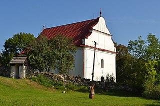 Drienčany Village in Slovakia