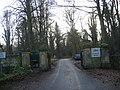 Drive and gateposts to Ridley Hall - geograph.org.uk - 1617006.jpg