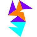 Dual tridiminished icosahedron net.png