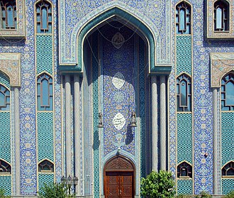 Iranians in the United Arab Emirates - Iranian mosque in Dubai.