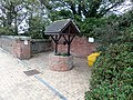 Dunbar railway station, East Lothian - wishing well.jpg