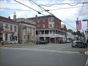 Duncannon, Pennsylvania near where the Appalac...
