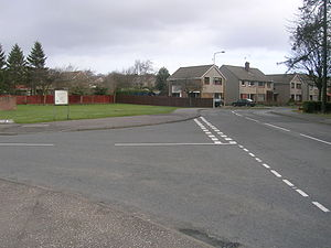 History of Kirkcaldy - Dunnikier Estate – an example of a post-war housing development to the north of the town