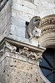 Duomo di massa marittima, esterno, capitelli leonini, XIII secolo 01.JPG