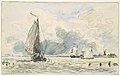 Dutch Fishing Boats, Verso- Sketches of Boats MET DP108225.jpg
