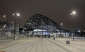 Łódź Fabryczna railway station - Image: Dworzec Łódź Fabryczna