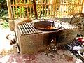 Dye in pan on stove. Khotan, Xinjiang.jpg