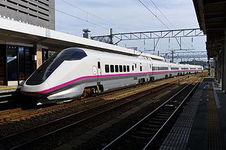 Komachi (train) - A six-car E3 series set on a Komachi service, July 2011