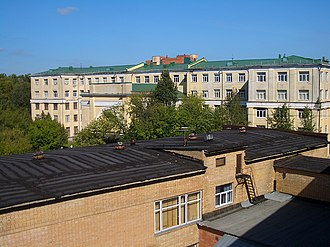 Moscow Institute of Physics and Technology - MIPT campus before renovation
