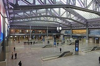 Pennsylvania Station (New York City) Train station in New York City