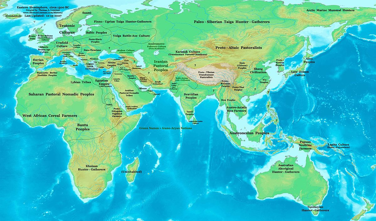 S BC Decade Wikipedia - Map of egypt 1300 bc