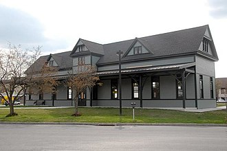 East Stroudsburg station - Image: East Stroudsburg railroad Station