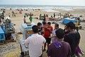 Eating Pani Puri - New Digha Beach - East Midnapore 2015-05-01 8893.JPG