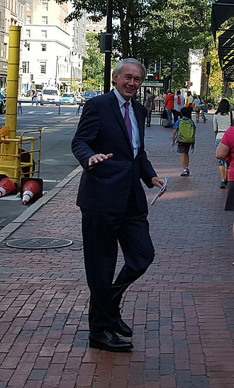 Ed Markey - Markey attending the Greater Boston Labor Council's annual Labor Day Breakfast in Boston.