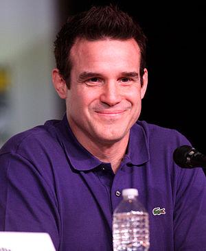 Eddie McClintock - McClintock at the 2012 San Diego Comic-Con International