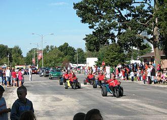 Edinburg, Illinois - Image: Edinburg Labor Day Parade