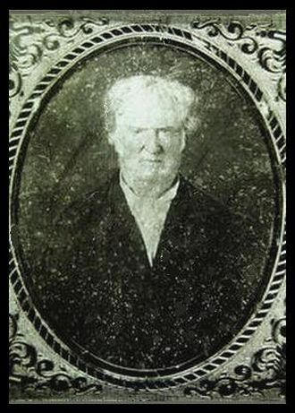 Edmund Bacon (1785–1866) - Photo of Edmund Bacon in later life
