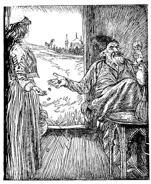 File:Edmund J Sullivan Illustrations to The Rubaiyat of Omar Khayyam First Version Quatrain-012.jpg