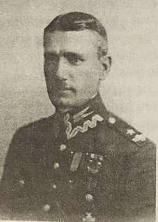 Edmund Heldut-Tarnasiewicz Born on July 17, 1892 in Radom, Poland and died April 2, 1952 in London, United Kingdom. The Commander of the Polish Army cavalry.