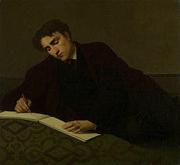 Portrait of the painter Isidore Verheyden