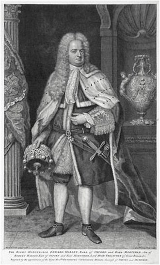 Edward Harley, 2nd Earl of Oxford and Earl Mortimer - Edward Harley, 2nd Earl of Oxford and Mortimer
