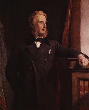 Territorial and Reserve Forces Act 1907 - Portrait of Edward Cardwell, driving force behind the Cardwell Reforms, by George Richmond, 1871