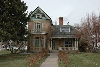 National Register of Historic Places listings in Juab County, Utah - Image: Edwin Booth House Nephi Utah