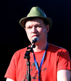Edwyn Collins - Collins at Summercase in 2008