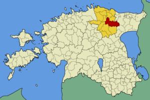 Vinni Parish - Image: Eesti vinni vald