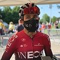 Egan Bernal au départ de la troisième étape du Tour de l'Ain 2020 (2).jpg