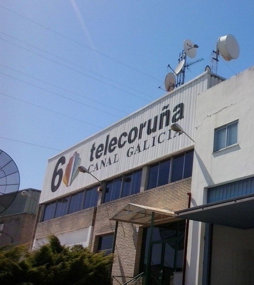 Instalacións da extinta Telecoruña en Po.Co.Ma.Co.